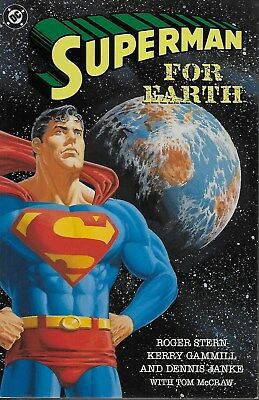 Superman For Earth / US GN / Roger Stern & Kerry Gammill