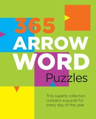 365 Arrowword Puzzles Book The Cheap Fast Free Post