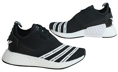 buy online 735cb 7c588 ADIDAS ORIGINALS WHITE Mountaineering NMD R2 Primeknit Mens Trainers BB2978  D6