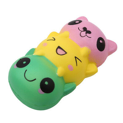 Squishies Cute Cat Scented Slow Rising Squeeze Stress Reliever Relax Toys Z