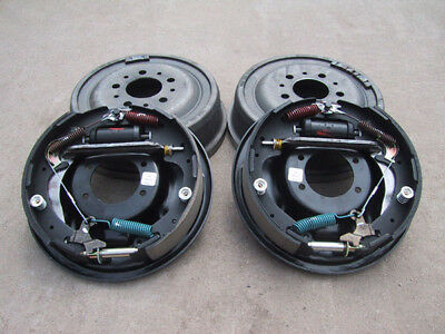 "9"" Ford Bolt-On 11"" Drum Brake Kit - 9 Inch - Big Ford Old-Style - 1/2"" Ends"