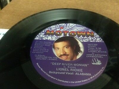 Lionel Richie Deep River Woman With Alabama ~ Ballerina Girl Ps  45 7 C3