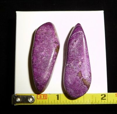 DINO: 2 AAA STICHTITE Polished Stones - 14 g Perfect for Reiki & Crystal Healing