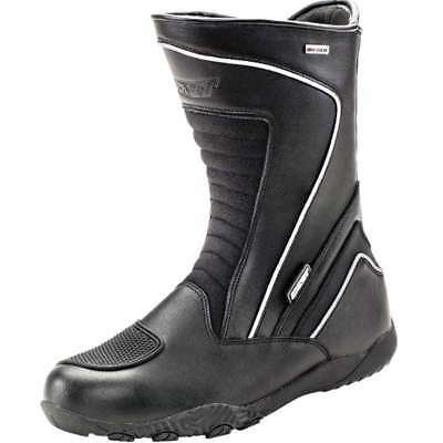 Joe Rocket Meteor FX Waterproof Motorcycle Boots Black Mens All Sizes