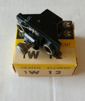 New Allen-Bradley W12 Thermal Overload Relay Heater Element **Made in the USA**