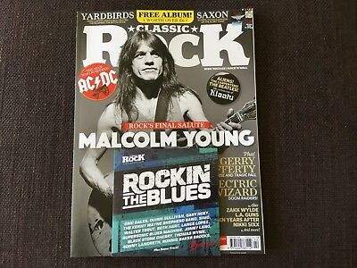Classic Rock 245 February 2018 Malcolm Young Rock's Final Salute Includes cd