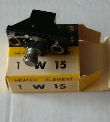 New Allen-Bradley W15 Thermal Overload Relay Heater Element **Made in the USA**