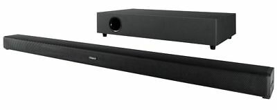 Polaroid TB301SW 2.1 Channel Sound Bar & Subwoofer 60W (Black) B+