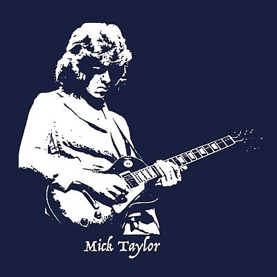 Mick Taylor T Shirt The Rolling Stones Let It Bleed Exile on Main Street