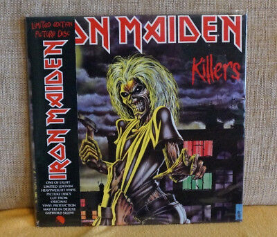 "Iron Maiden ""KILLERS"" Limited Edition Picture Disc LP"
