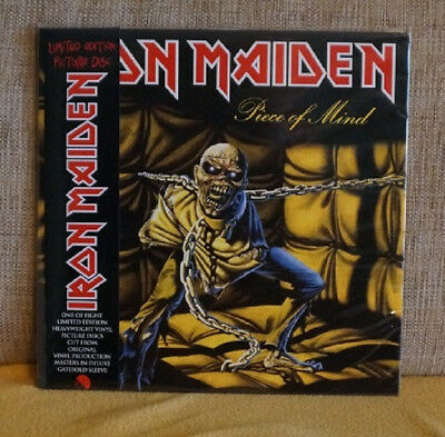 "IRON MAIDEN ""PieceOf Mind"" Limited Edition Picture Disc LP"