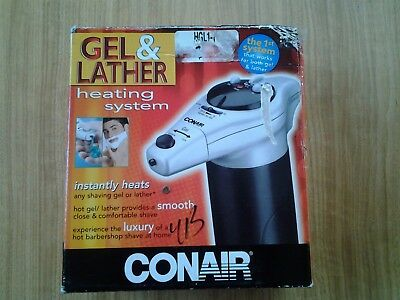 Conair Gel & Lather Heating System #hgl1 Brand New In Box Free Shipping