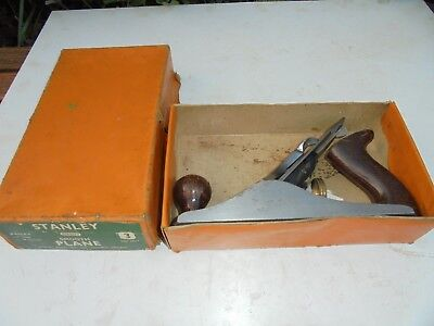 VINTAGE STANLEY BAILEY No 3 SMOOTHING PLANE