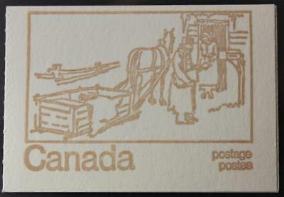 Canada #BK69k, MNH OG, Type 3, OP2 Tagged, NF, Clear Sealing Strip