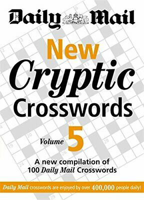 Daily Mail: New Cryptic Crosswords 5: A New Compilati... by Daily Mail Paperback
