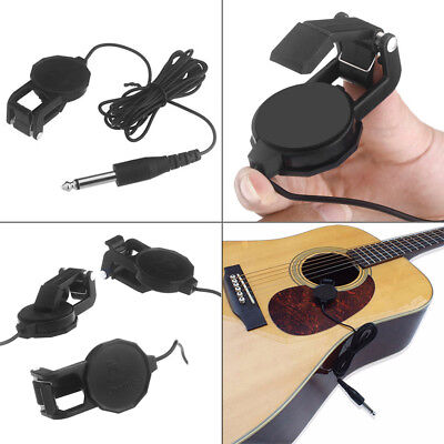Cherub WCP-60G Clip On Acoustic Electric Guitar Pickup Musical Instruments Parts