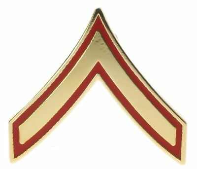 US Marine Corps Private First Class E-2 Rank Hat or Lapel Pin H14386D113