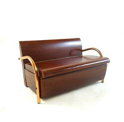 French Art Deco Secret Box Masterpiece Sofa Club Chair Antique 1930