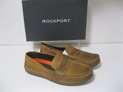 9545c87abc8 ROCKPORT BAYLEY PENNY Leather Mens Loafers Shoes -  39.98
