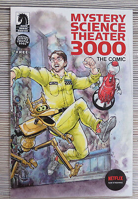 Mystery Science Theater 3000 ash can Dark Horse Comics