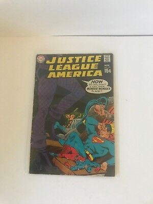 DC COMICS  Justice League Of America #75