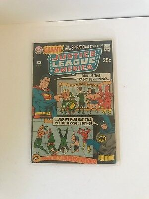 DC COMICS 80 PAGE GIANT Justice League Of America #76