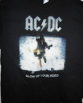 AC/DC- NEW Blow Up Your Video T Shirt- 2XLarge FREE SHIPPING TO U.S.!