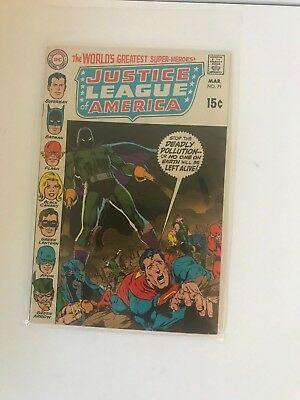 DC COMICS Justice League Of America #79
