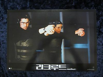 The Recruit lobby cards  - Al Pacino, Colin Farrell (set of 10)