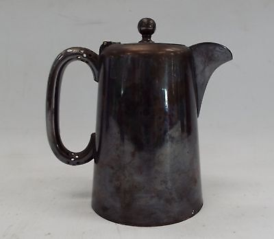 Vintage JAMES DEAKIN & SONS Silver Plated On Pewter Small Coffee Pot - H65
