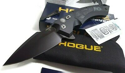 Hogue Knives CPM 154 Spear Point Black Blade G-Mascus G10 Handle Folding Knife
