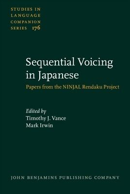 SEQUENTIAL VOICING IN JAPANESE PAPERS FR, Vance, Timothy J. (Nati...