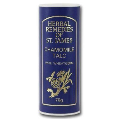 Taylor of Old Bond Street Herbal Remedies of St. James Chamomile Talc 70g (22,29