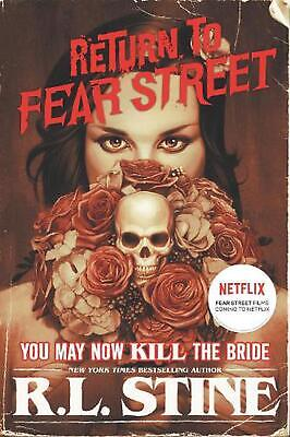 You May Now Kill the Bride by R.L. Stine Paperback Book Free Shipping!