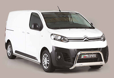 Pare Buffle Homologue Inox Citroen Jumpy 2016+