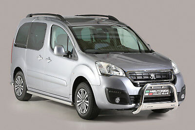 Pare Buffle Homologue Inox Peugeot Partner 2016+