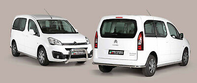 Pare Buffle Homologue Inox Citroen Berlingo 2015+