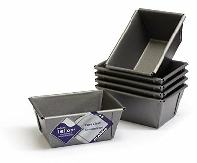 Mini Loaf Tins, Set Of 6, With Teflon ®™ Non Stick, British Made By®