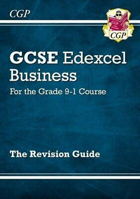 New GCSE Business Edexcel Revision Guide - for the Grade 9-1 Cou... by CGP Books