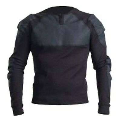 BowTex Shirt Black - Men - Made With Kevlar - Motorcycle Shirt - Free Shipping