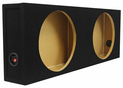 "Rockville Shallow Sub Box Enclosure For (2) MTX Audio 3512-04S 12"" Subwoofers"