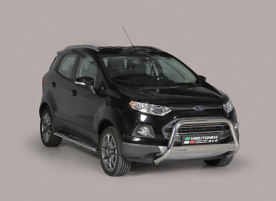 Tubes Marche-Pieds Ovale Inox Design Ford Ecosport 2014+