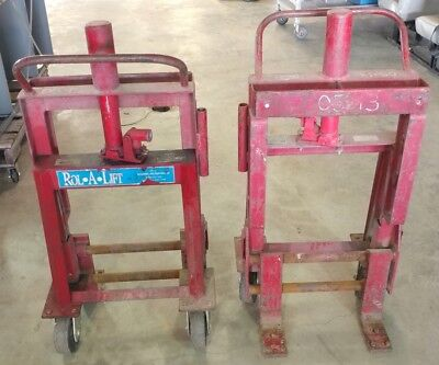 Rol-A-Lift Moving Dollies Heavy Duty Rolalift Dolly  M-4 6000 lbs 4000 lbs M4-6