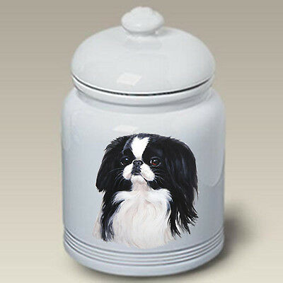 Ceramic Treat Cookie Jar - Japanese Chin (LP) 45133