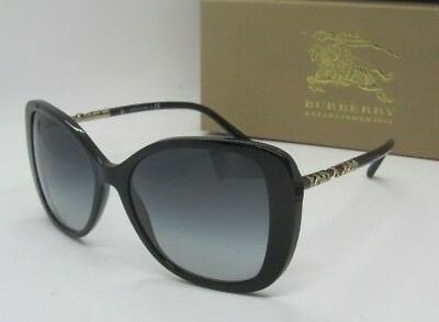 fe756f51c35e BURBERRY black grey gradient BE4238 3001 8G SUNGLASSES! NEW IN BOX!  AUTHENTIC