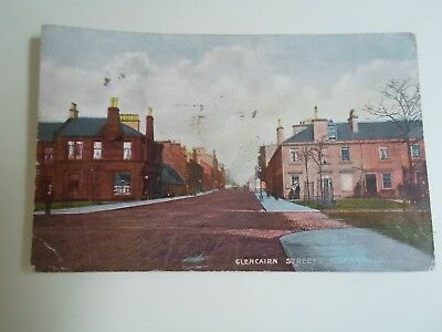 KILMARNOCK, Glencairn Street Franked+Stamped 1907 National Series Postcard §B826
