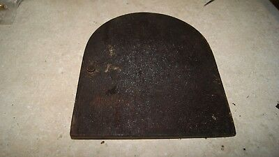 Gilbert Clock Case Back Cover Used Mantel / Shelf Clock Parts 3