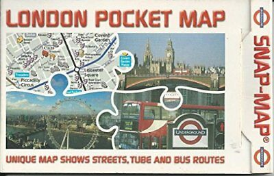 London Pocket Map: Unique Map Shows Streets... by Snap-Map Ltd Sheet map, folded