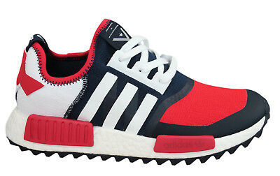 a507db0fd Adidas Originals White Mountaineering NMD Trail Primeknit Mens Trainers  BA7519