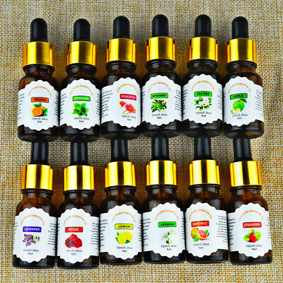 Essential Oils 100% Pure Natural Aromatherapy oils 10ml choose fragrance aroma
